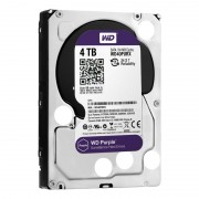 Жесткий диск SATA-3 4TB WD Purple 5400rpm WD40PURZ Cashe 64MB