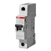 sh201L C16 Автоматический выключатель ABB 1 полюсный, номинальный ток 16А, ток срабатывания 4.5 кА