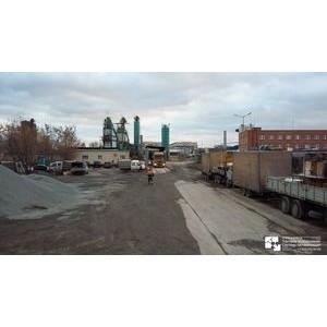 Установка TVI видеокамер на заводе по производству асфальта г. Москва