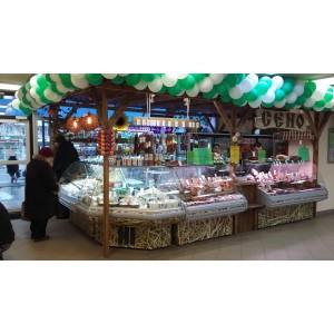 Видеонаблюдение в магазине мясной продукции Сено г. Ивантеевка