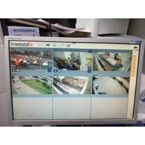 """Установка системы видеонаблюдения на базе Trassir в сети магазинов """"Сено"""""""