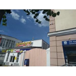 """Монтаж наружной системы видеонаблюдения для магазина обуви """"Котофей"""" (г.Егорьевск)"""