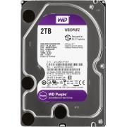 Жесткий диск SATA-3 2TB WD Purple 5400rpm WD20PURZ Cashe 64MB