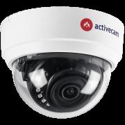 TVI видеокамера ActiveCam AC-H1D1 2.8 купольная