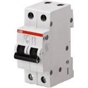 sh202 C 16 Автоматический выключатель ABB 2 полюсной, номинальный ток 16 А, ток срабатывания 6 кА