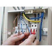 Установка и коммутация автоматического выключателя